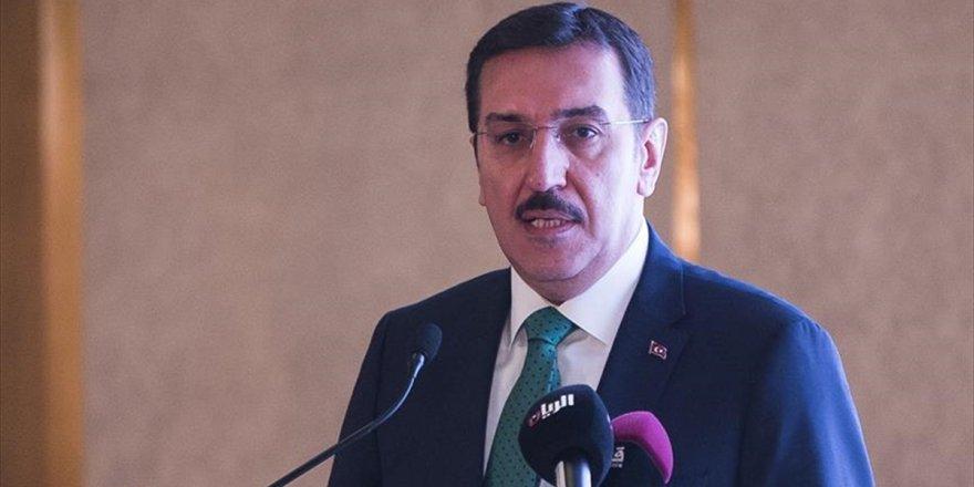 Gümrük Ve Ticaret Bakanı Tüfenkci: Katar İle Ticareti Artırmak İçin Çalışmaları Hızlandıracağız