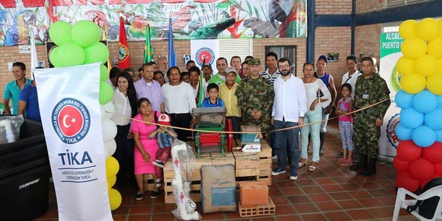 Tika'dan Kolombiya'da Tarım Ekipmanı Desteği