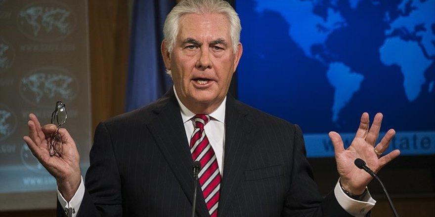 Abd Dışişleri Bakanı Tillerson: Suriye'de Sınır Güvenlik Gücü Kurmuyoruz