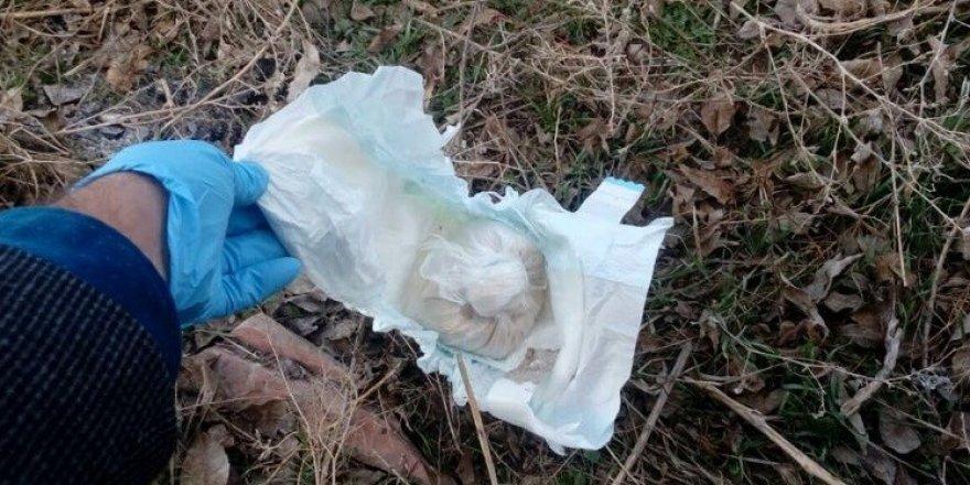 Konya'da bebek bezi içerisinde eroin