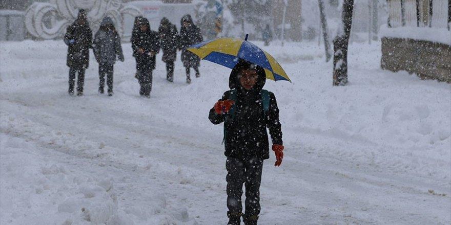 5 İlde Karne Günü Eğitime Kar Engeli