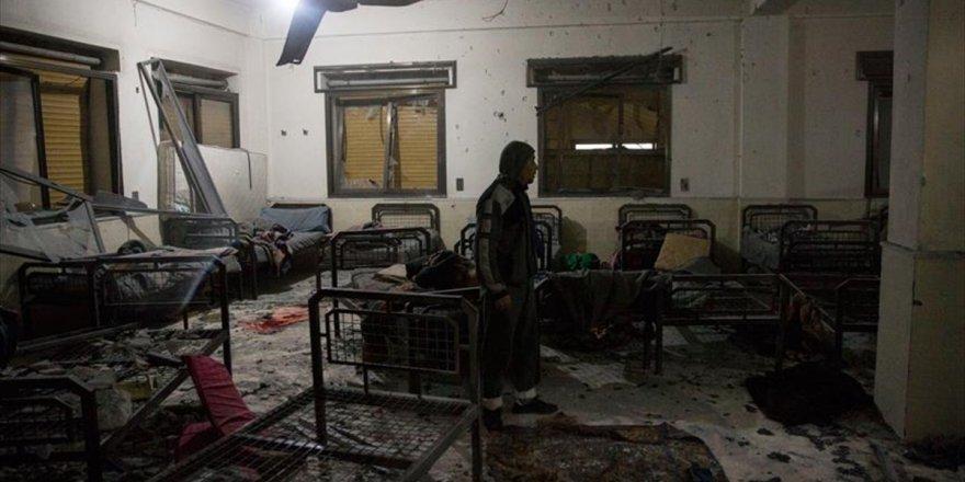 Pyd/pkk, Afrin'den Hastanelere Top Ateşi Açtı: 12 Yaralı