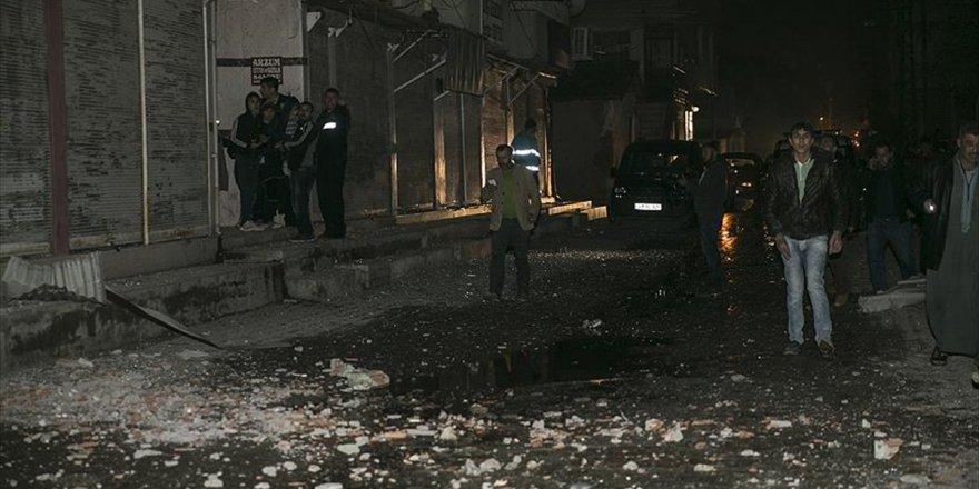 Pyd/pkk'nın Reyhanlı'ya Saldırdığı Mevziler İmha Edildi
