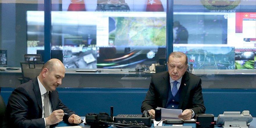 Cumhurbaşkanı Erdoğan, Zeytin Dalı Harekatı'na İlişkin Bilgi Aldı
