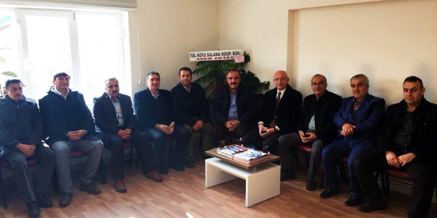 SEYDİŞEHİR MHP'DEN KONURER'E ZİYARET