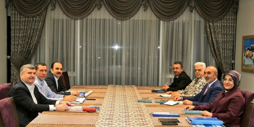 Başkanlar Meram'da buluştu