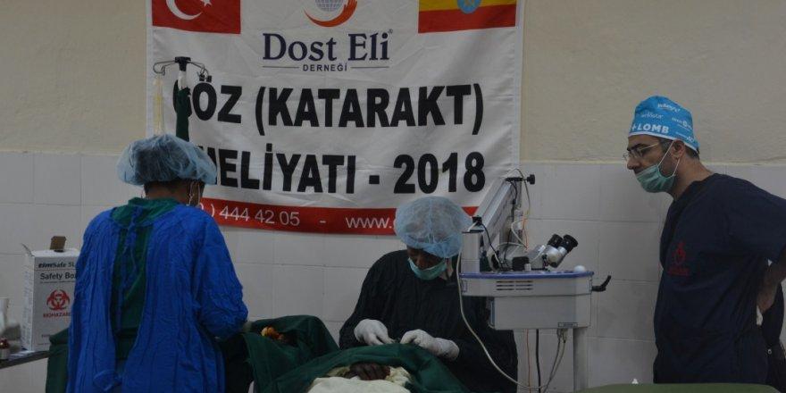 """Etiyopyalı hastalara """"Dost Eli"""" uzandı"""