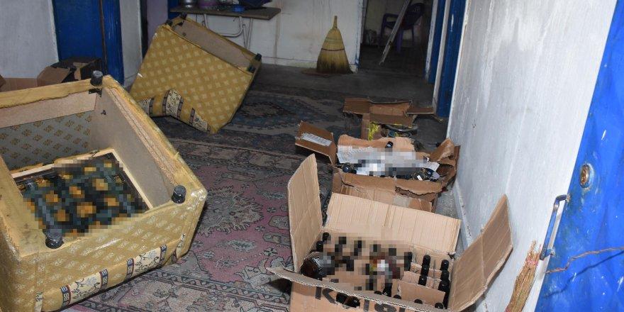 84 şişe sahte içkiyle yakalandı, 'Günde 3 şişe içiyorum' dedi
