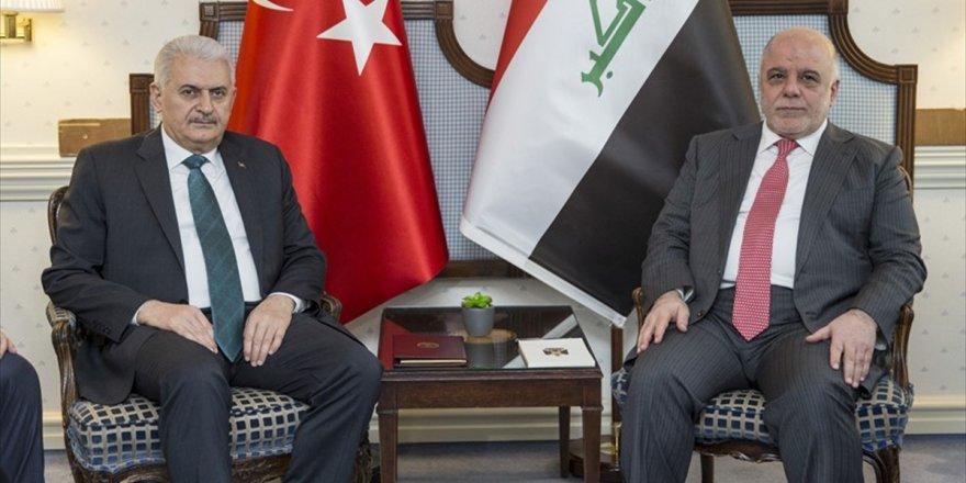 Başbakan Yıldırım, İbadi İle Terörle Mücadeleyi Görüştü
