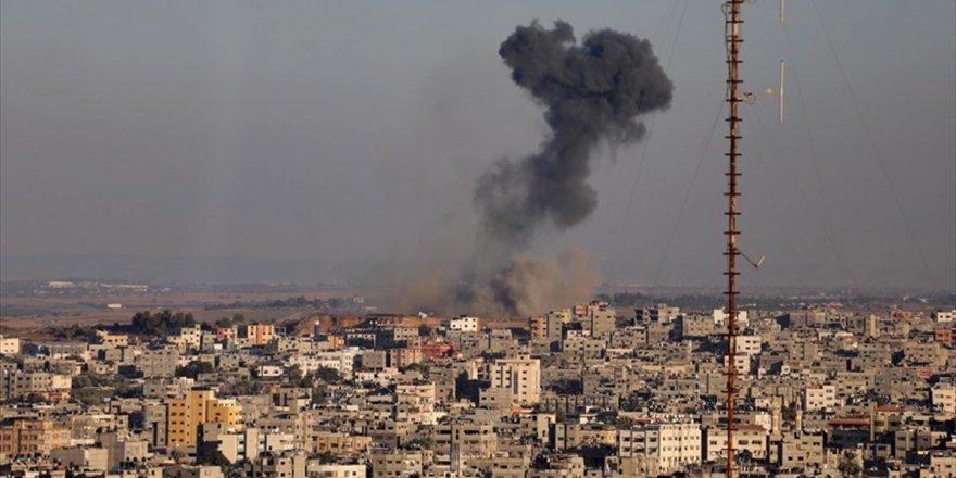 İsrail Savaş Uçakları, Refah'ta Tarım Arazilerini Bombaladı