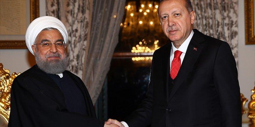 Cumhurbaşkanı Erdoğan Ruhani İle Telefonla Görüştü