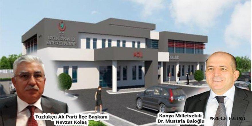 Tuzlukçu'ya 10 yataklı entegre hastanesi yapılacak