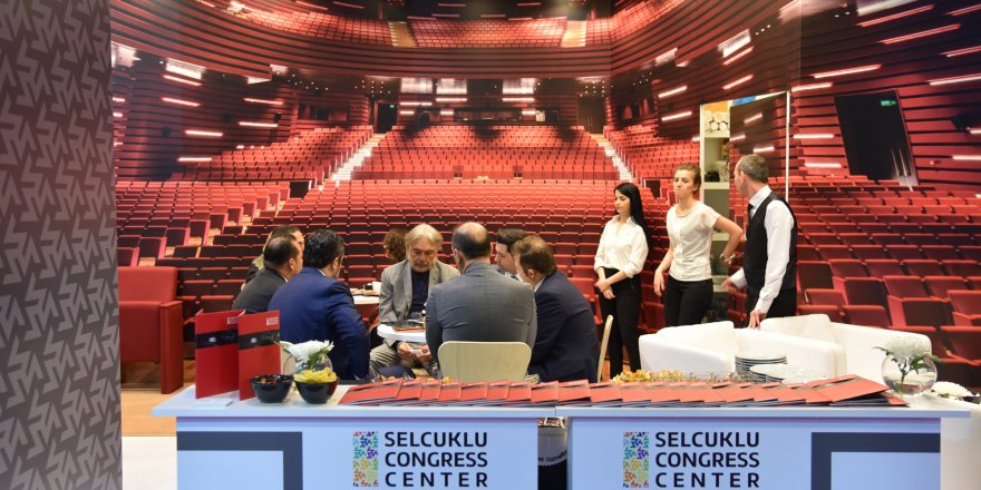 Selçuklu Kongre Merkezi Konya'nın tanıtımına fayda sağlıyor