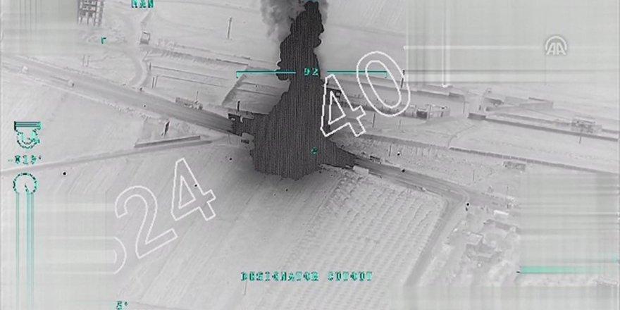Tsk, Afrin'e İlerleyen Terör Örgütü Konvoyunu Vurdu