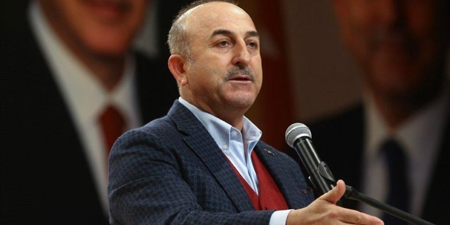 Çavuşoğlu'ndan Ypg/pkk Propagandasına Tepki