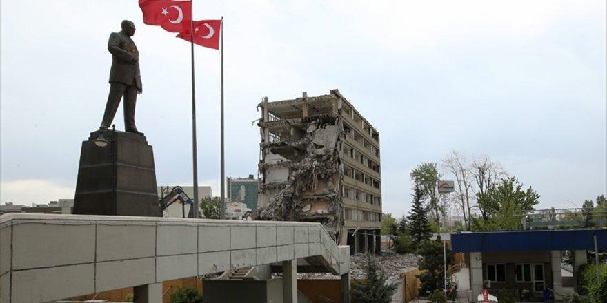 Ankara Emniyet Müdürlüğünü Bombalayan Fetö'cü Pilottan 'Uyku' Yalanı