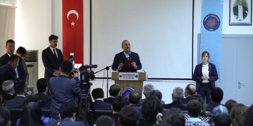 Dışişleri Bakanı Çavuşoğlu: Bu Fırsatı Abd'nin Çok İyi Değerlendirmesi Lazım