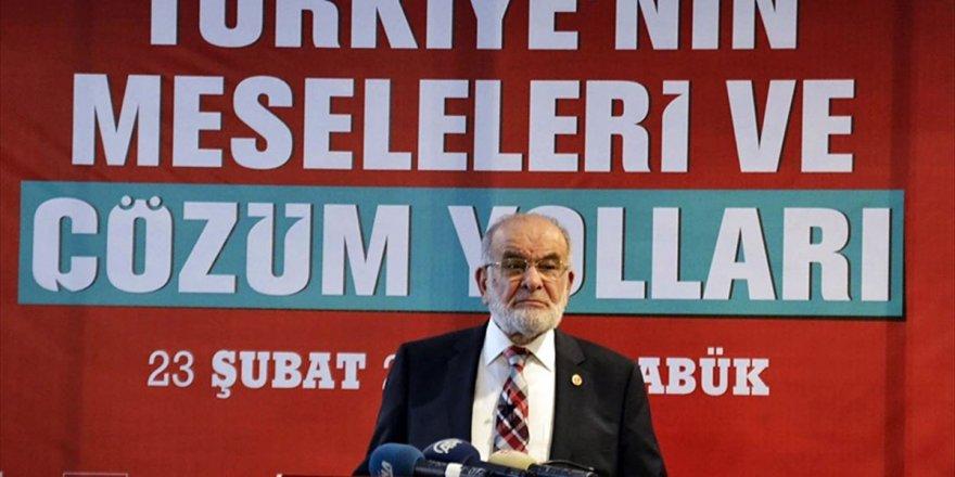 Saadet Partisi Genel Başkanı Karamollaoğlu'dan Cumhur İttifakı Açıklaması