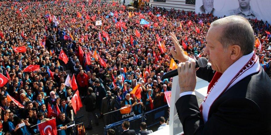 """Cumhurbaşkanı Erdoğan: """"Şimdi birileri ne diyor, sivilleri vuruyorlar. Be vicdansızlar, ahlaksızlar edepsizler"""""""
