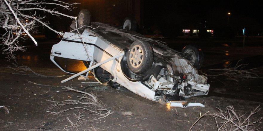 Konya'da iki ayrı kaza: 2 yaralı
