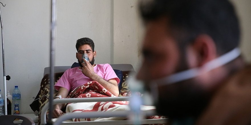 Esed Rejimi Doğu Guta'yı Kimyasal Silahla Vurdu