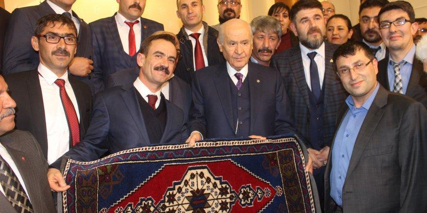 MHP Karapınar İlçe Teşkilatı Bahçeli'yi Ziyaret Etti