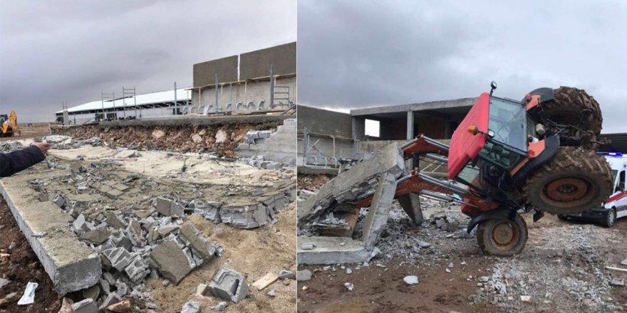 Konya'da besihane duvarı yıkıldı: 3 ölü, 1 yaralı