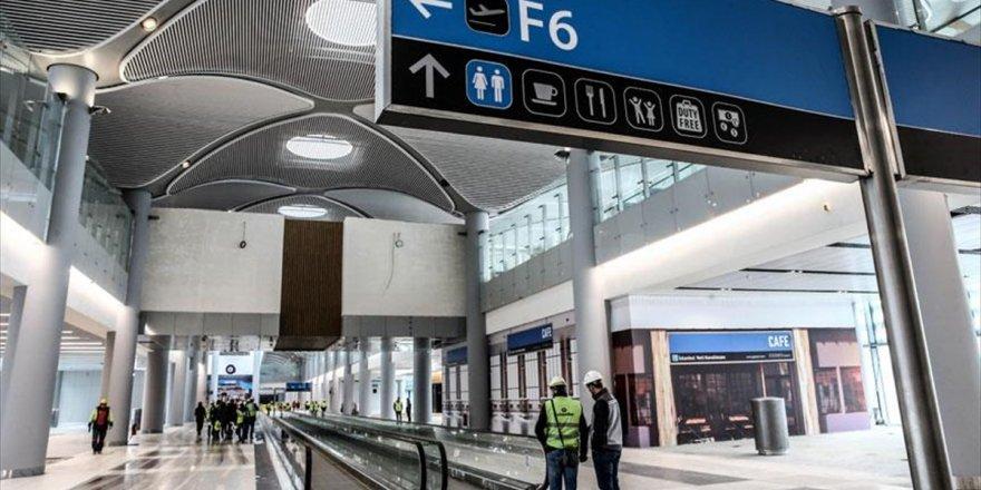 İstanbul Yeni Havalimanı'nda Ticari Alanlara Büyük İlgi