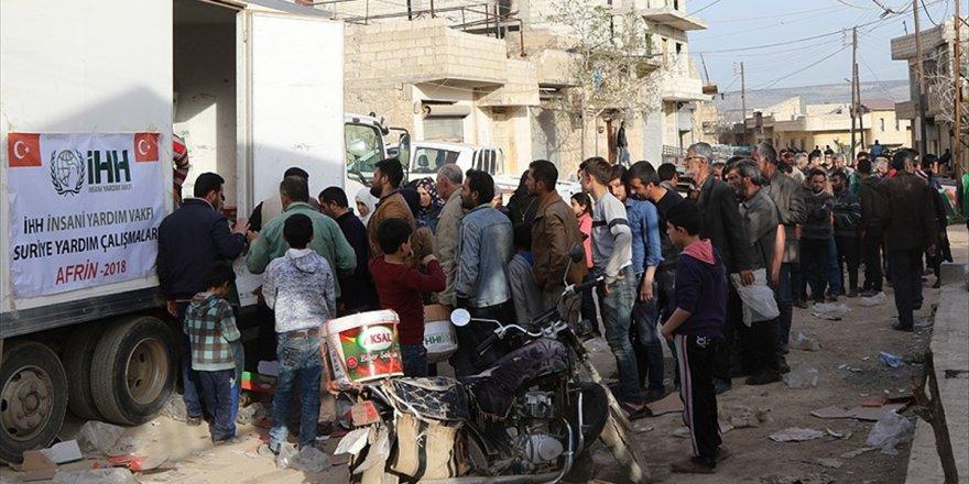 Afrin'deki Ailelere İnsani Yardım