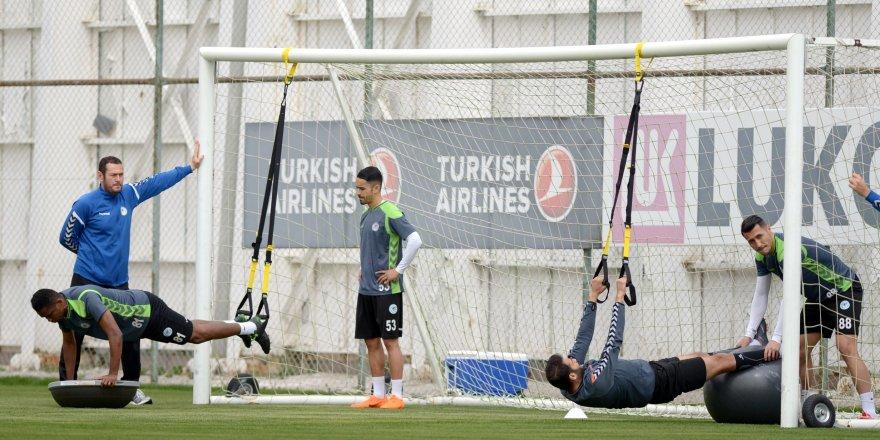 Konyaspor'da Osmanlıspor Maçı Hazırlıkları