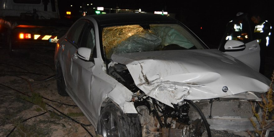 Konya'da trafik kazası : 3 yaralı