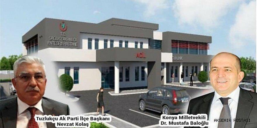 Tuzlukçu Devlet Hastanesinin ihalesi yapıldı