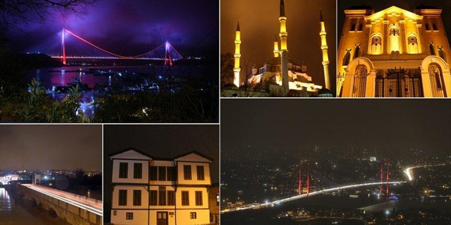 Türkiye'den 'Dünya Saati' Hareketine Destek