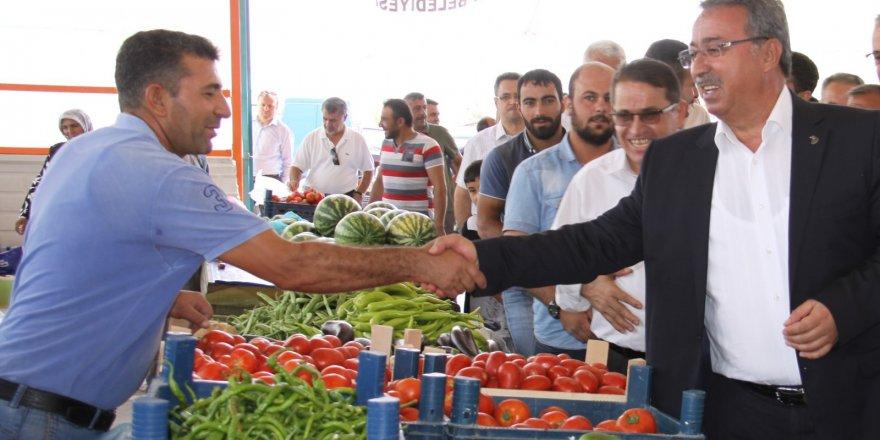 Karatay'ın 16. kapalı pazar marketi tamamlandı