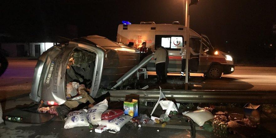 Sakarya'da Trafik Kazası: 7 Yaralı