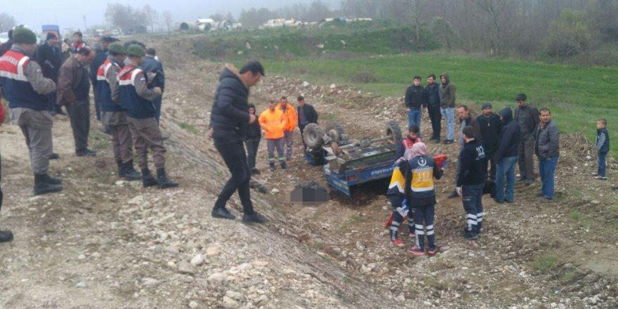 Sakarya'da Trafik Kazası: 1 Ölü