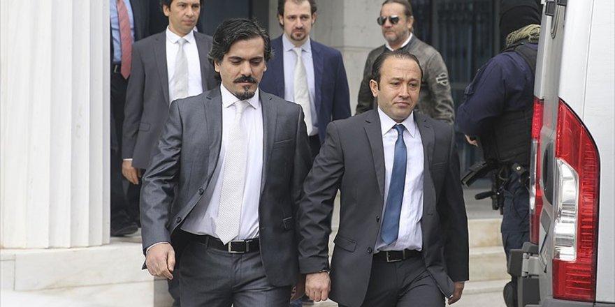 Yunanistan Adalet Bakanından 8 Darbeciye İlişkin Açıklama
