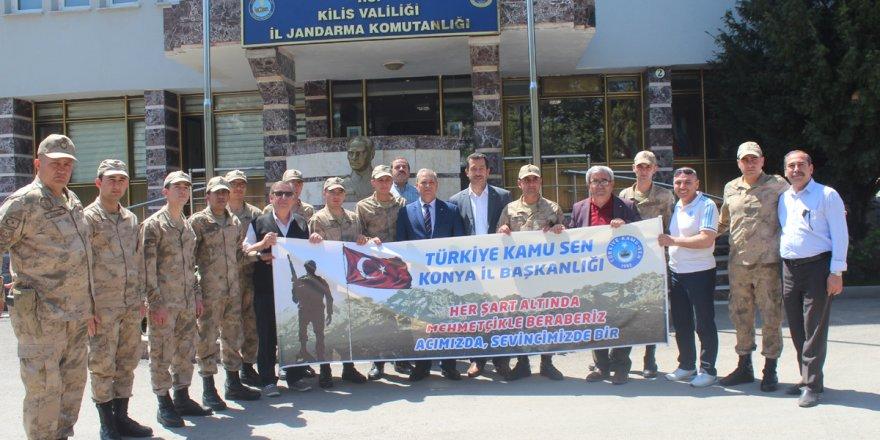 Kamu Sen Konya'dan anlamlı organizasyon
