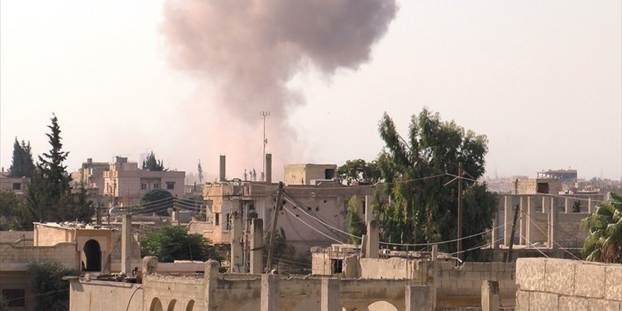 Esed Rejimi Humus'taki Kuşatma Alanlarına Saldırıyor