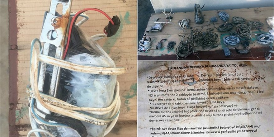 Afrin'de 15 Patlayıcı Düzenek Ele Geçirildi