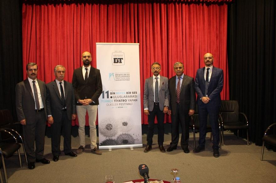 Konya'da Uluslararası Tiyatro Festivali Başlıyor