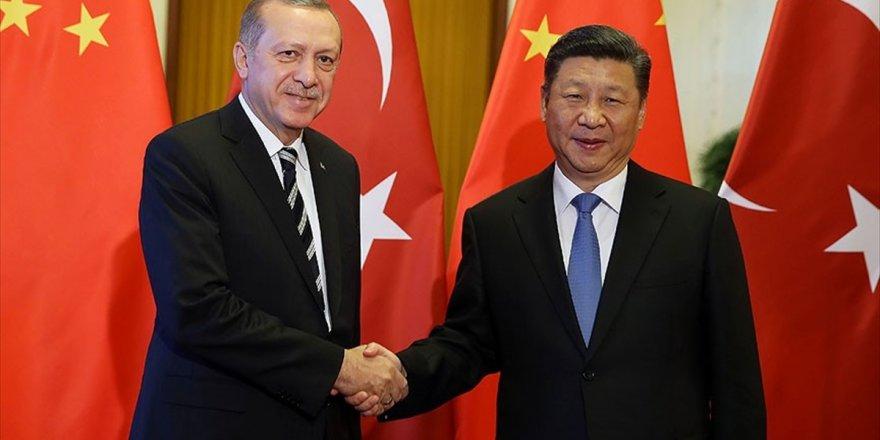 Cumhurbaşkanı Erdoğan İle Çin Devlet Başkanı Şi Telefonda Görüştü