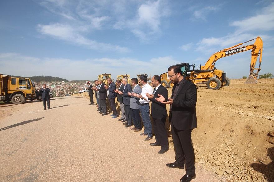 Beyşehir'de Silah Sanayi Sitesinin Yapımı Başlandı