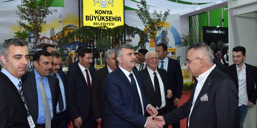 Başkan Akyürek'ten fuar daveti