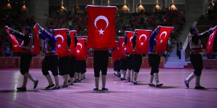 Konya'da 23 Nisan kutlaması