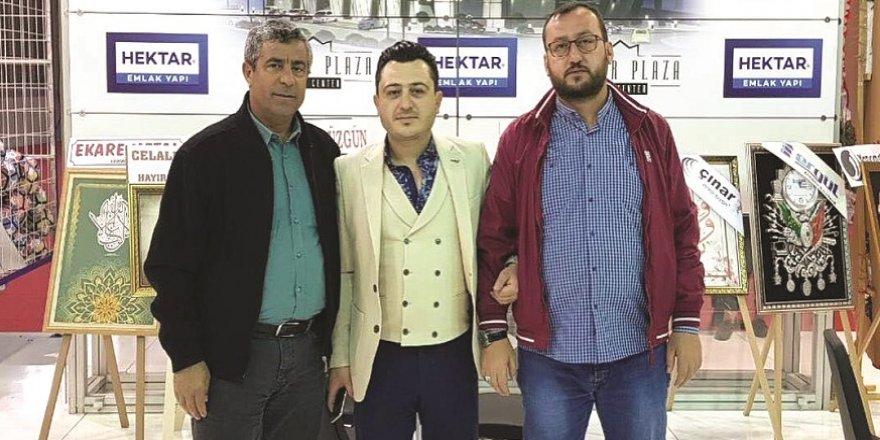 HALİL AYTEMİR, FUARDAN SON DERECE MUTLU