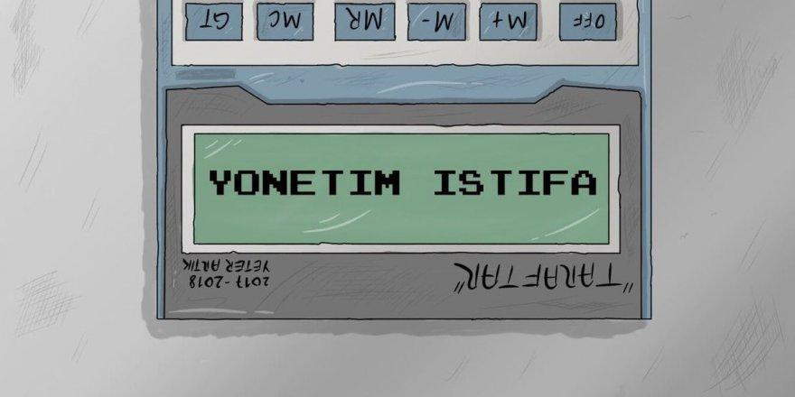Konyaspor'da karikatürlü istifa çağrısı
