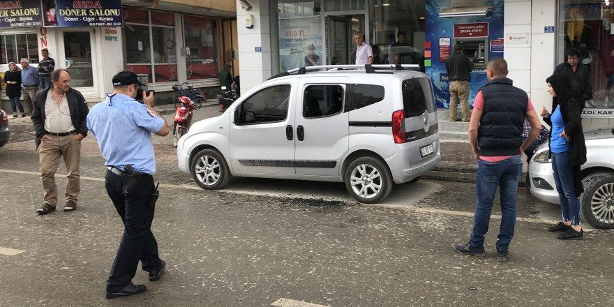 Ilgın'da banka şubesine pompalı tüfekle saldırı