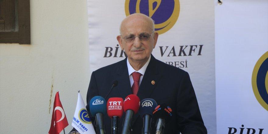 Tbmm Başkanı Kahraman: Türkiye'ye Çelme Takmak İsteyenler Muvaffak Olamayacaklar
