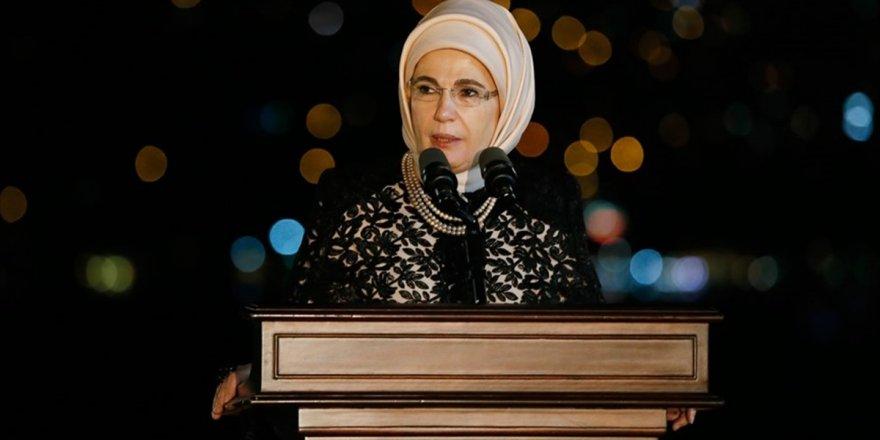 Emine Erdoğan: Türkiye Yeniden İnşa Sürecine Girdi